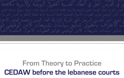 CEDAW from Theory to Practice ( KAFA )