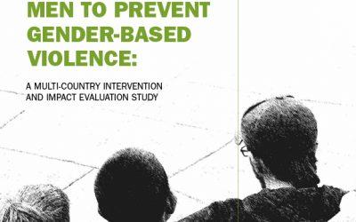 Engaging Men to Prevent Gender-Based Violence