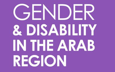 Gender and Disability in the Arab region
