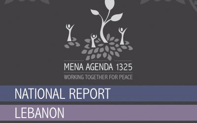 Non discrimination & reinforcement of women peace & security agenda in the mena region lebanon national report