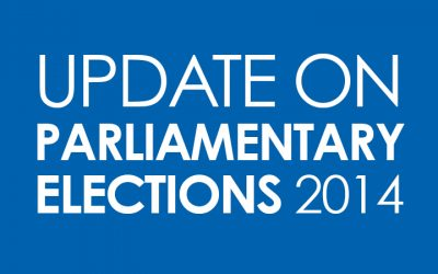 Update on parliamentary elections 2014