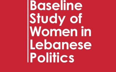 baseline of women in politics – the case of Lebanon – HIVOS