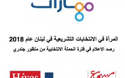 المرأة في الانتخابات التشريعية في لبنان – مهارات