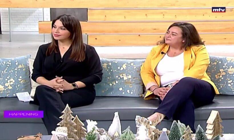 Vanessa Jerdak & Josephine Zgheib, Women For Beirut MTV alive interview